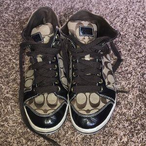 Genuine coach shoes